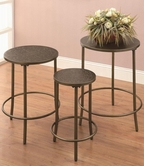 Coaster 901096 NESTING TABLES (BRONZE)