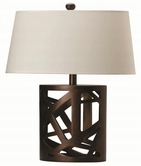 Coaster 901256 TABLE LAMP (WARM BROWN)