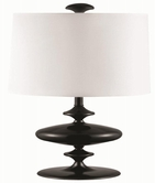 Coaster 901415 TABLE LAMP (BLACK)