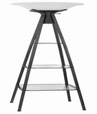 Coaster 901420 FLOOR LAMP (CHARCOAL BLACK)