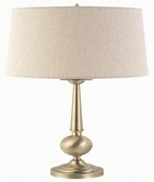 Coaster 901443 TABLE LAMP (BURSHED GOLD)
