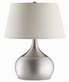 Coaster 901471 TABLE LAMP (SILVER/CHROME)