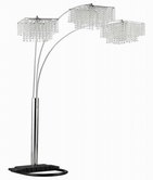 Coaster 901484 FLOOR LAMP (CHROME)