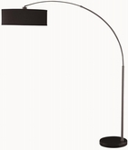 Coaster 901486 FLOOR LAMP (BLACK/CHROME)