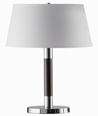Coaster 901488 TABLE LAMP (ESPRESSO/CHROME)