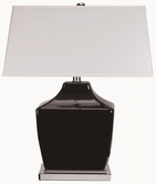 Coaster 901495 TABLE LAMP (BLACK)