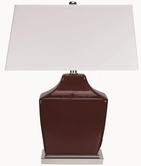 Coaster 901496 TABLE LAMP (WINE RED)