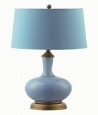 Coaster 901511 TABLE LAMP (SKY BLUE)