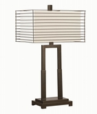 Coaster 901530 TABLE LAMP (BLACK)