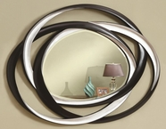 Coaster 901734 MIRROR (BLACK/SILVER)