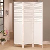 Coaster 901906 FOLDING SCREEN (WHITE)
