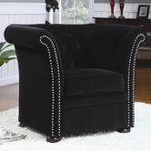 Coaster 902032 CHAIR (BLACK)