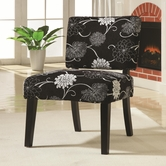 Coaster 902048 CHAIR (B/W FLORAL)