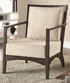 Coaster 902072 ACCENT CHAIR (BEIGE)