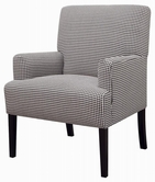 Coaster 902083 ACCENT CHAIR (BLACK/WHITE STRIPES)