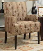 Coaster 902084 ACCENT CHAIR (HOUNDSTOOTH PATTERN)