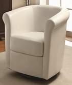 Coaster 902087 SWIVEL CHAIR (WHITE)