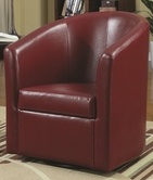 Coaster 902099 SWIVEL CHAIR (RED)