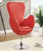 Coaster 902101 SWIVEL CHAIR (RED)