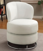 Coaster 902105 SWIVEL CHAIR (WHITE)