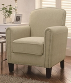 Coaster 902142 ACCENT CHAIR (BEIGE)
