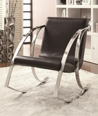 Coaster 902146 CASUAL CHAIR (BLACK)
