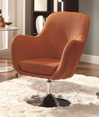 Coaster 902148 SWIVEL CHAIR (ORANGE)