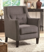 Coaster 902170 ACCENT CHAIR (GREY)