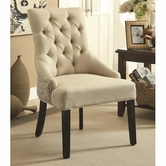 Coaster 902171 ACCENT CHAIR (BEIGE)