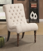 Coaster 902176 ACCENT CHAIR (OATMEAL)
