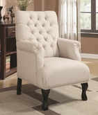 Coaster 902177 ACCENT CHAIR (OATMEAL)