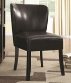 Coaster 902185 ACCENT CHAIR (DARK BROWN)