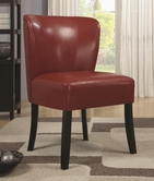 Coaster 902186 ACCENT CHAIR (RED)