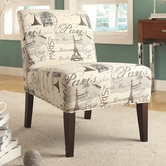 Coaster 902192 ACCENT CHAIR (BEIGE)