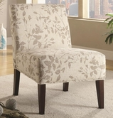 Coaster 902194 ACCENT CHAIR (TAUPE/BEIGE)