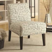 Coaster 902196 ACCENT CHAIR (BEIGE)