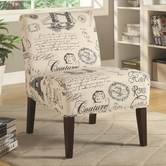 Coaster 902199 ACCENT CHAIR (BEIGE)