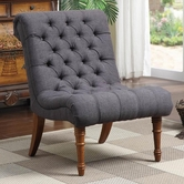 Coaster 902217 ACCENT CHAIR (CHARCOAL GREY)