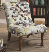 Coaster 902219 ACCENT CHAIR (BLUE/WHITE/GREEN)
