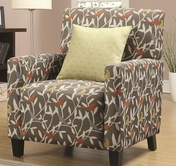 Coaster 902232 ACCENT CHAIR (GREY/WHITE/ORANGE/BLUE/YELLOW)