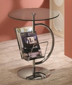 Coaster 902801 ACCENT TABLE (CHROME)