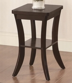 Coaster 902808 CHAIRSIDE TABLE (ESPRESSO)
