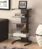 Coaster 902831 BOOKSHELF (GUNMETAL)