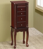 Coaster 903800 JEWELRY ARMOIRE (CHERRY)