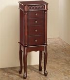 Coaster 903801 JEWELRY ARMOIRE (CHERRY)