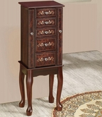 Coaster 903806 JEWLERY ARMOIRE (TOBACCO)