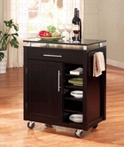 Coaster 910012 KITCHEN CART
