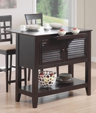 Coaster 910014 KITCHEN CART (CAPPUCCINO)