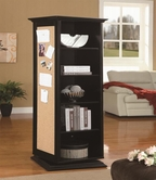 Coaster 910083 SWIVEL CABINET (BLACK)