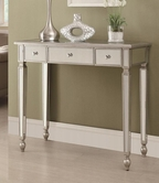 Coaster 950014 CONSOLE TABLE (ANTIQUE SILVER)